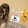 #afghan hound #sighthound #dogsign #caution #xing #アフガンハウンド #サイトハウンド #犬看板 #ドッグサイン